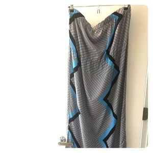 Topshop Long Maxi Dress